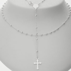 £16 23-01-185 Silver rosary