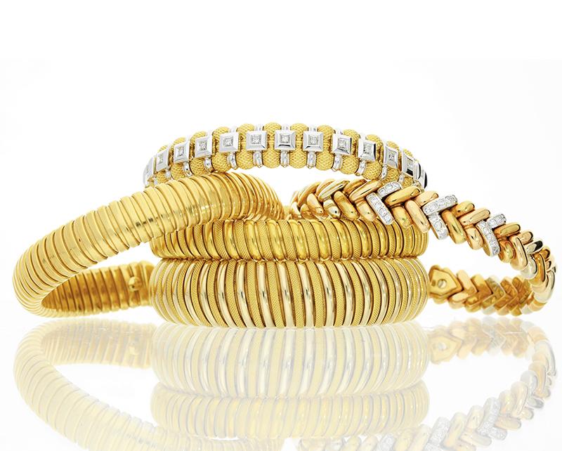 Gold Bracelets and Bangles